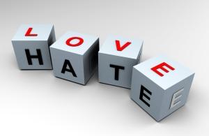 shutterstock-Love-Hate1